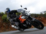 KTM 1050 Adventure zakrety z