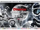 Diverse Night Of The Jumps plakat z