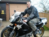 motocyklista David z