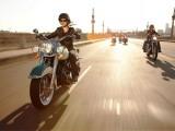 motocykle na drodze z