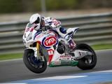 Guintoli Pata Honda test Jerez  z