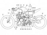 Hybrydowy motocykl Suzuki  z