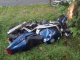 Rozbita Honda VFR 1000 z