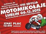 plakat MotoMikolaje Lublin 2015 z