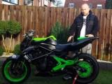 Wojtas Freestyle stunt Kawasaki z
