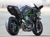 Kawasaki Ninja H2 R 2015 prawy tyl z