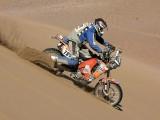 Rajd Dakar 2009 Pustynia Atacama wydmy z