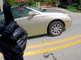 road rage kompilacja moto z