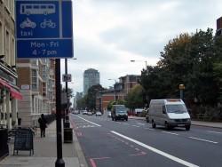 Bus pas Londyn z