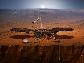 InSight Mars z