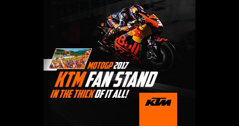 Wygraj konkurs KTMa i zobacz wyścig MotoGP na własne oczy!