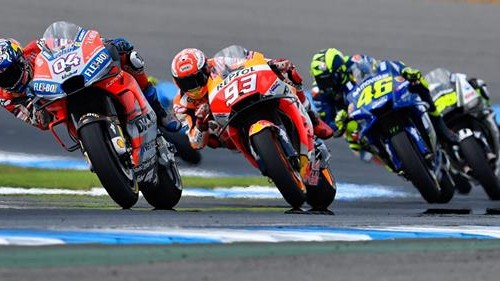 Dovizioso najszybszy, Marquez daleko - kwalifikacje przed GP Japonii