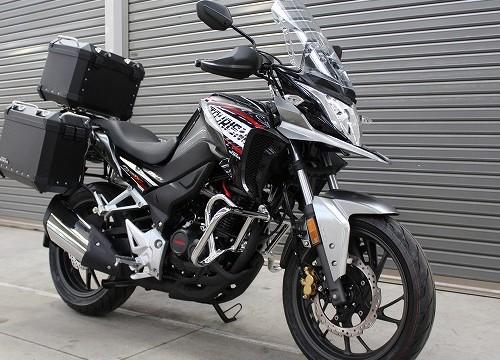 Honda CB190X - pomysł na małe enduro na rynek europejski?