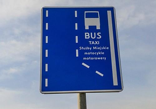 Warszawscy motocykliści będą musieli poczekać na wjazd na kolejne buspasy