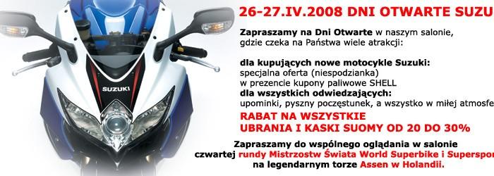 Dni otwarte Suzuki tylko z POLandPOSITION już w ten weekend