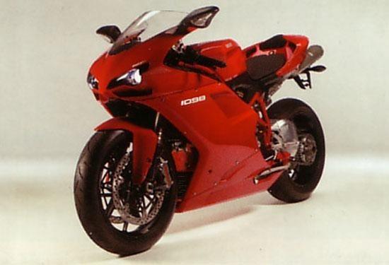 Ducati 1098 pierwsze oficjalne fotografie
