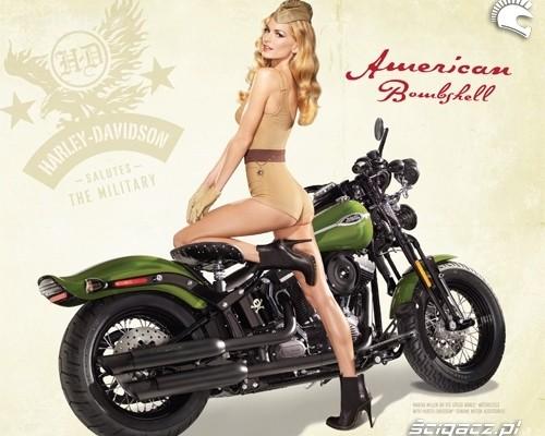 Harley-Davidson składa hołd armii USA