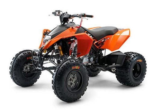 KTM XC 450/525 - mechaniczna pomarańcza