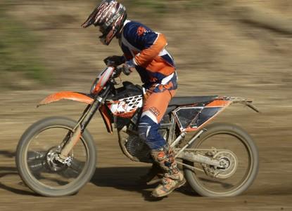 KTM - ekologiczny motocykl enduro