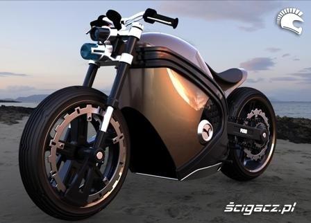 Motocykl od Pumy?