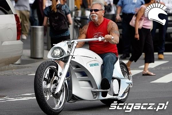 Orange County Choppers zbudowało elektryczny motocykl