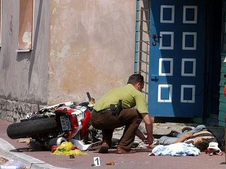Zastrzelony motocyklista z Chodeli - Policja uniewinniona