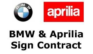 BMW i Aprilia podpisały porozumienie