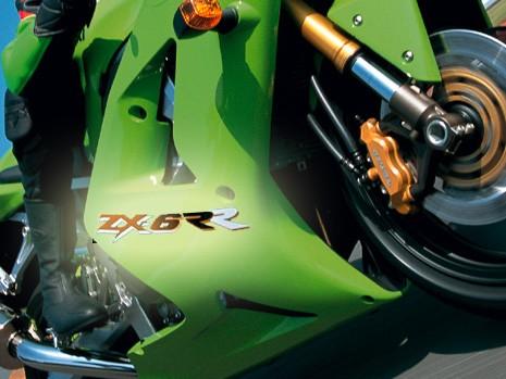 Kawasaki ZX-6R i ZX-6RR ad 2005