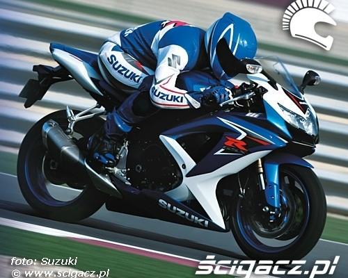 Suzuki GSX-R600 po liftingu