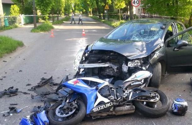 Bezpieczeństwo polskich motocyklistów w 2014 - raport