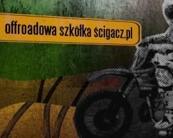 Offroadowa szkółka Ścigacz.pl - jazda w bandzie