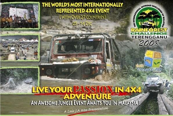 Rainforest Challenge 2008 - quadami przez dżunglę