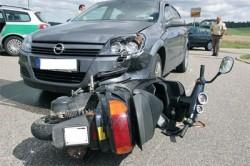 Statystyki wypadków motorowerzystów w 2008