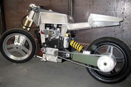 SAM CX 500, czyli  - masz silnik, to zbuduj sobie motocykl