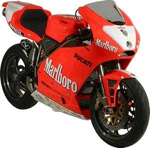 QB Carbon Ducati GP Replica