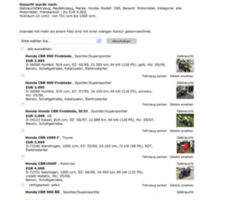 Uwaga oszuści – okazyjne motocykle używane
