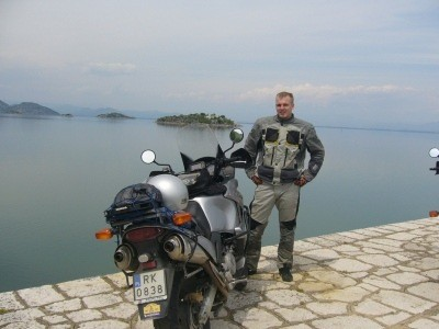 Bałkany 2007 na motocyklu