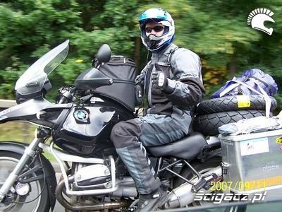 Motocyklem ze Szkocji do Nepalu