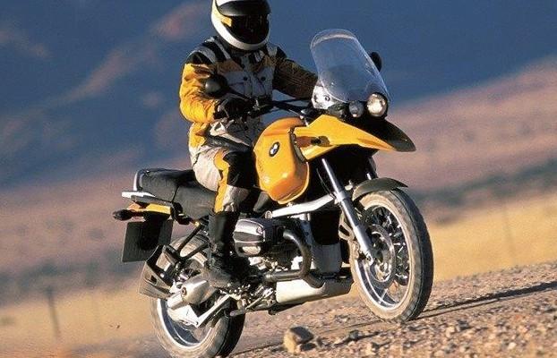 BMW R1150GS - jak Kałach