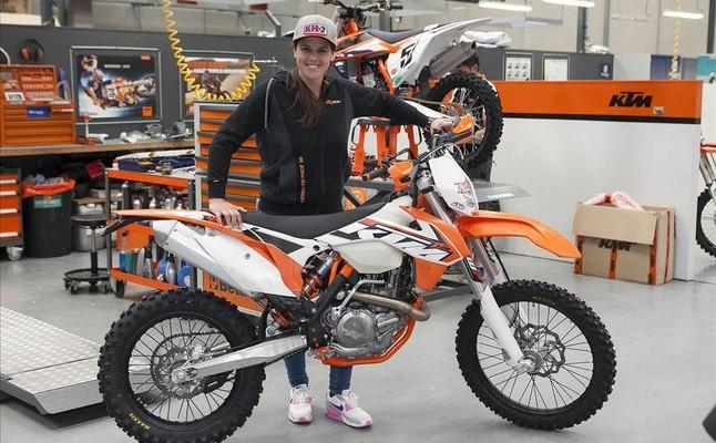 Laia Sanz podpisuje kontrakt z KTM-em
