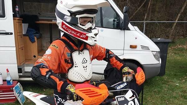 Dwukrotne podium Jakuba Kowalskiego w eliminacji mistrzostw Holandii ONK MOTOCROSS MILL