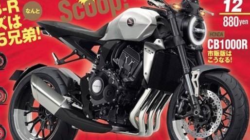 Nowa Honda CB1000R - czysty styl i piekielny silnik