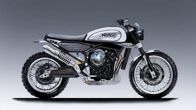 norton 650 scrambler concept z