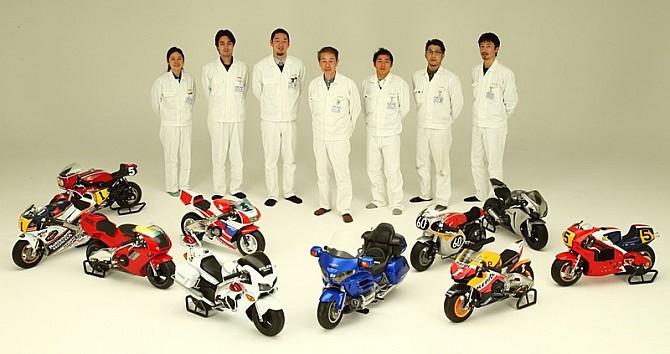 miniaturowe motocykle honda z
