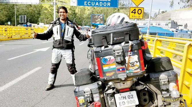 68 tysięcy km przez 34 kraje - podróżnik z Indii wraca do domu