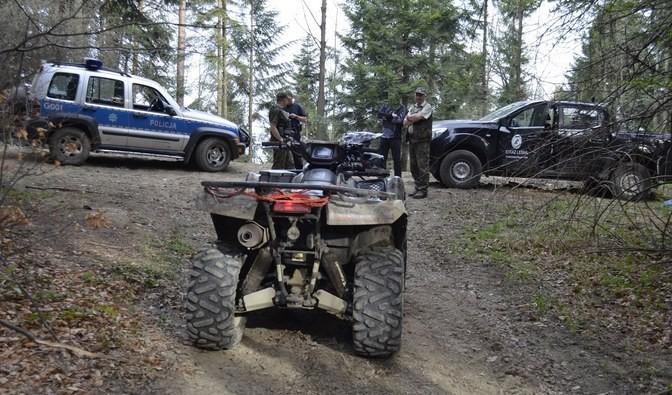 3000 zł kary i areszt. Straż Leśna prowadzi bezpardonową walkę z motocyklistami