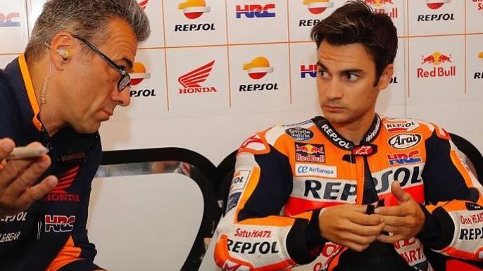 Dani Pedrosa stopniuje napięcie co do swojej przyszłości w MotoGP