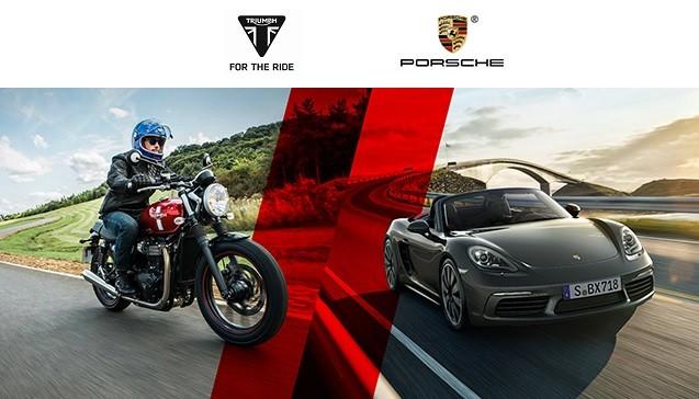 Triumph i Porsche na jednej imprezie! Zostały ostatnie miejsca!