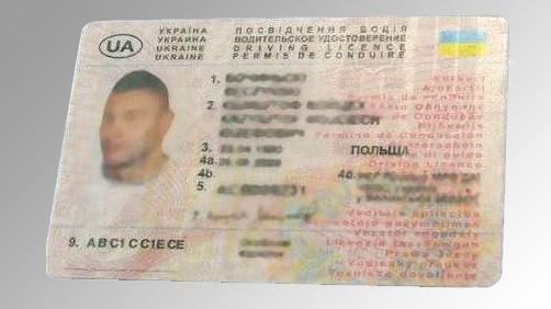 prawo jazdy ukrainskie z
