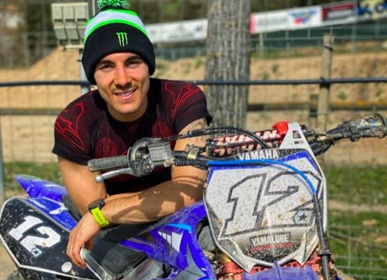MotoGP: Maverick Vinales miał wypadek na treningu motocrossowym